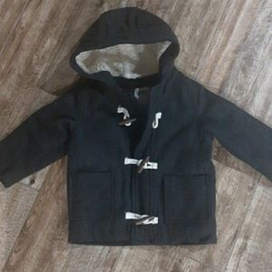 NWOT Grey Peacoat Size 18-24 Months Jacket